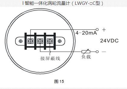 智能一体化涡轮流量计(LWGY-C型)