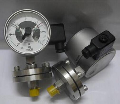 防爆感应式电接点压力
